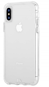 Case Mate - Tough Clear Case Plus Glass Screen Protector for iPhone Xs/X - Clear