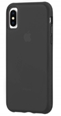 Case Mate - Tough Matte Case Plus Glass Screen Protector for iPhone Xs/X - Black