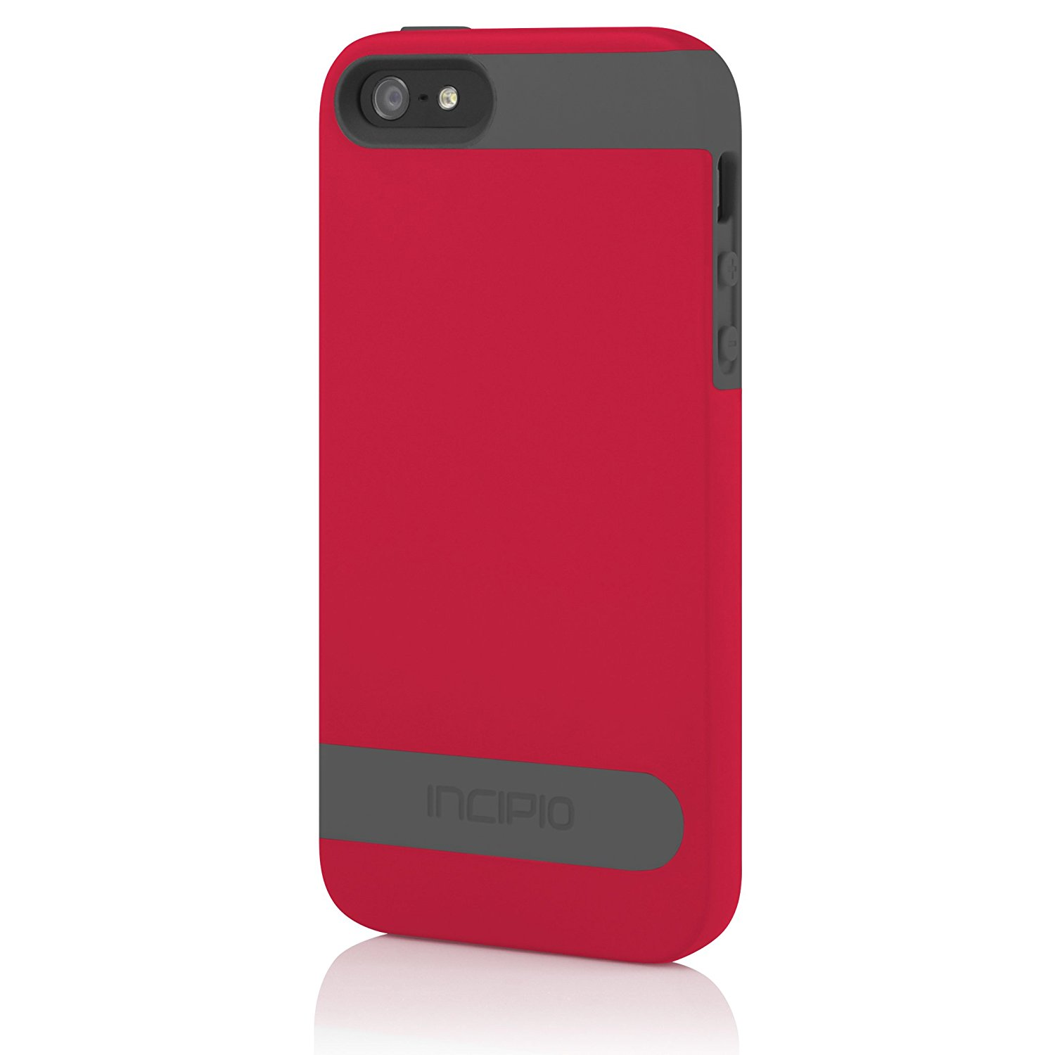 Incipio Ovrmld Case For Iphone Se 5c 5s 5 Red Gray Iph 1120 5se Kickstand Series Blackblack