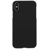 Case-Mate - Barely There Case for iPhone Xs/X - Black