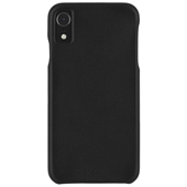 Case-Mate - Barely There Leather Case for iPhone XR - Black