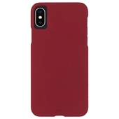 Case-Mate - Barely There Case for iPhone Xs/X - Red