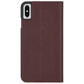 Case-Mate - Barely There Folio Case for iPhone Xs Max - Brown