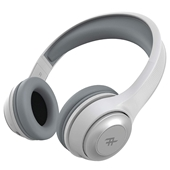 iFrogz - Toxix Over Ear Bluetooth Headphones - White