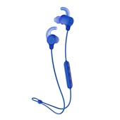 Skullcandy - Jib+ Bluetooth Active Wireless Earbuds - Black / Blue